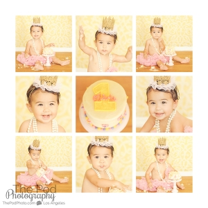 first-birthday-cake-smash-collage-wall-art