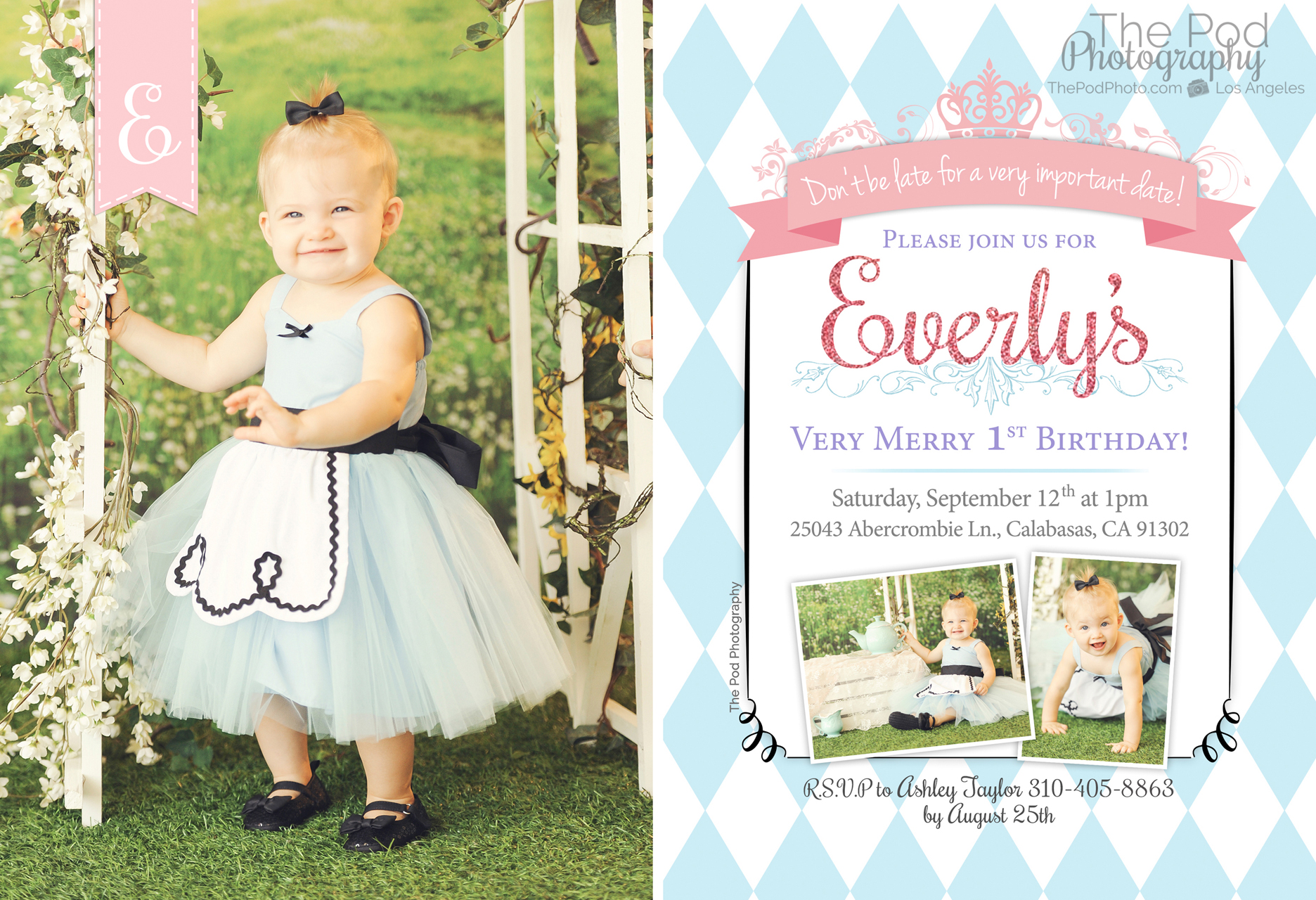 Custom Party Invitations & Thank You Cards | Best First Birthday ...